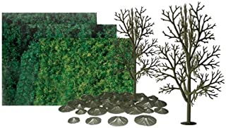 "JTT Scenery Products Super Scenic Series: Sycamore Tree Kit, 8"" Height"