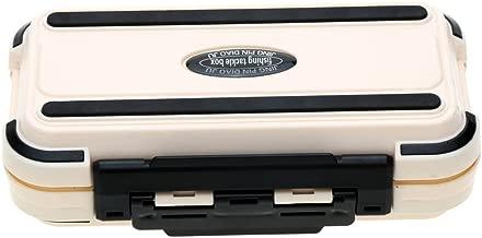 The Single Mum 24 Compartments Double Layer Lure Box Fishing Tackle Box Lure Fishing Box Plastic Fishing Tackle Box 2017 - Beige