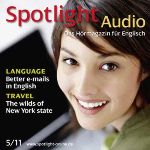 Spotlight Audio - Better e-mails in English. 5/2011 Titelbild