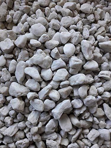Der Naturstein Garten 25 kg Quarzkies 16-32 mm weiß - Zierkies Quarzsand Splitt Kies Lieferung KOSTENLOS