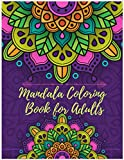 Mandala Coloring Book for Adults: White background, coloring pages, for stress relief (Mandala Love & Fun)