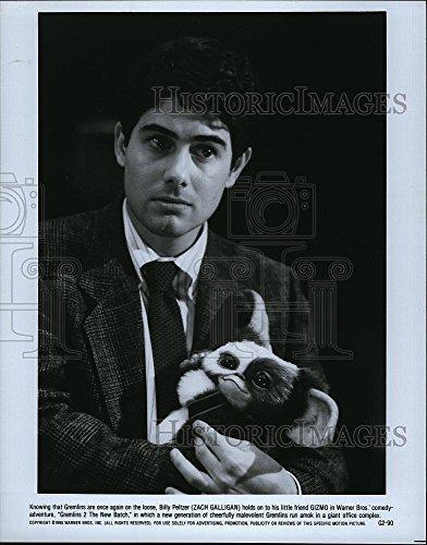 Vintage Photos 1990 Press Photo Zach Galligan American Actor Gizmo Gremlins 2 New Batch Movie