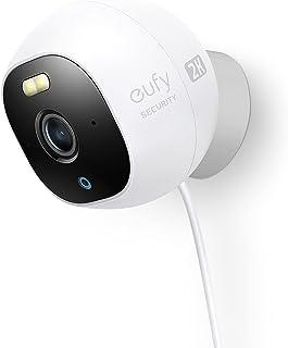 eufy Security Outdoor Cam Pro, alles-in-één standalone buiten bewakingscamera met 2K resolutie, spotlight, nachtzicht in k...