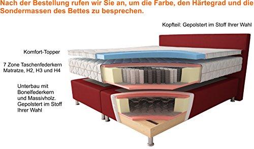 Amadeus Boxspringbett H2 H3 H4 Lieferung & Aufbau kaufen  Bild 1*