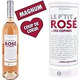 Vin rosé - Magnum Le P'tit Rosé des Copines IGP Méditerranée - Vin rosé de Provence - IGP de Méditerranée