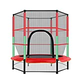 DONGTAISHANGCHENG Indoor Trampoline Anti-Fall Trampoline Jumping Pad Safety Net Protection Guard Outdoor Indoor Children Supplies 55-inch