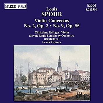 SPOHR: Violin Concertos Nos. 2 and 9