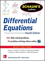Schaum's Outline of Differential Equations, Fourth Edition (Schaum's Outlines)