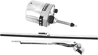 KNS Accessories KA8603 Stainless Steel Windshield Wiper Motor Kit (for Jeep, Street Rod, Custom and Hotrod)