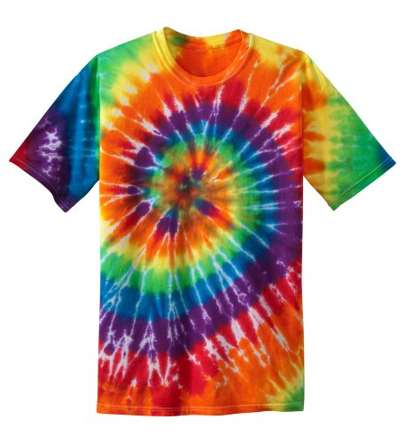Koloa Surf Co. Youth Colorful Tie-Dye T-Shirt in Youth Large
