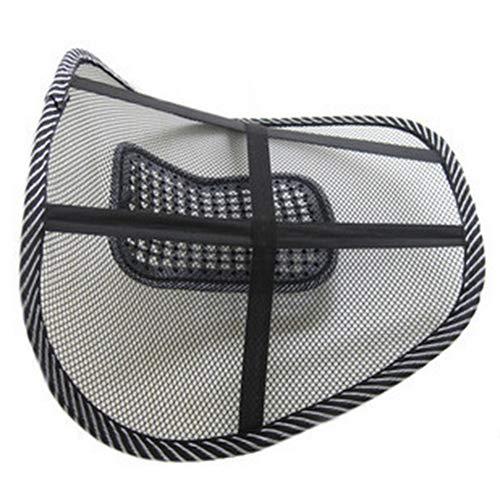 Preisvergleich Produktbild KaariFirefly 1 x atmungsaktives,  belastbares Rückenkissen,  Lendenwirbelstütze,  Netz-Stütze für Zuhause,  Büro,  Autositz.