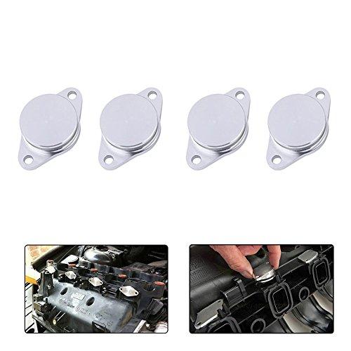 33mm Diesel Swirl Flap Blanks Replacement Bungs for BMW 320d 330d 520d 525d 530d 730d(6pcs)
