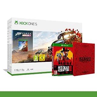 Xbox One S 1TB + Forza Horizon 4 + 14gg Xbox Live Gold + 1 Mese Gamepass [Bundle] + Red Dead Redemption 2 + Steelbook da Collezione - Bundle Limited - Xbox One (B07PK587KB) | Amazon price tracker / tracking, Amazon price history charts, Amazon price watches, Amazon price drop alerts