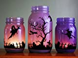 Ball Jar Ball Heritage Collection Quart Jars with Lids and Bands, Purple, Set of 6
