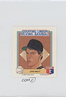 John Smiley (Baseball Card) 1988 Starting Lineup Talking Baseball - Pittsburgh Pirates #30