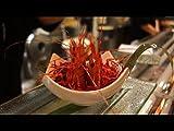 Graphic Live Shrimp Sushi