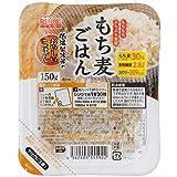 アイリスオーヤマ パック ごはん もち麦 低温製法米のおいしいごはん 非常食 米 レトルト 150g×24個