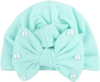 Vert Aisoway Nouveau-N/é Tout-Petit Enfant Chapeau B/éb/é Fille Turban Bandeau Noueuse Lapin Headwrap T/ête Wrap Beanies