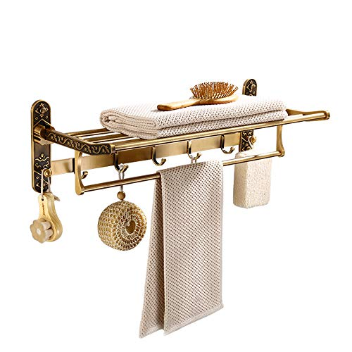 Alien badkamer planken douche rack muur gemonteerd roestvrij staal met gepolijste afwerking met haken verstelbare praktische douche opslag voor shampoo, douchegel en meer