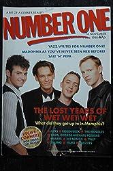 NUMBER ONE issue 283 - 16 nov. 1988 WET WET WET - Salt\'N\'Pepa - Madonna - Yazz - INXS