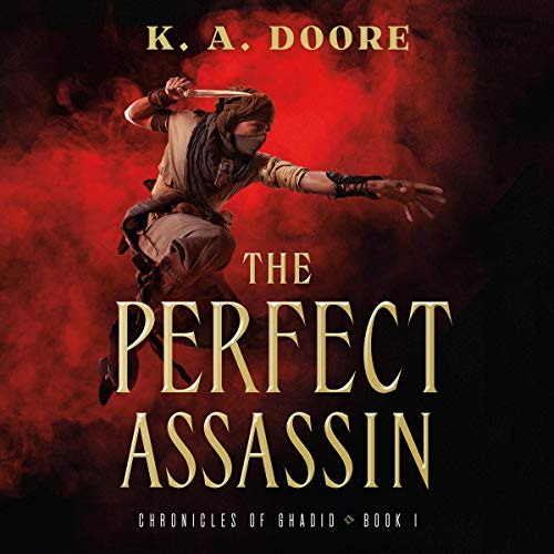 The Perfect Assassin audiobook cover art