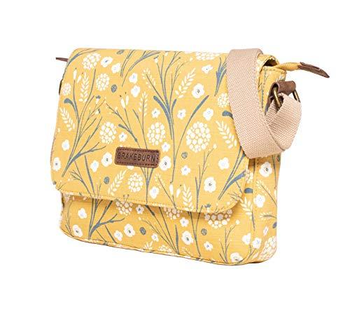 Brakeburn Pusteblume Design Satteltasche Damen Handtasche Gelb