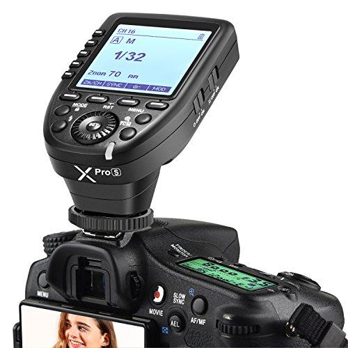 Neewer Xpro-S TTL Funk Blitzauslöser 1/8000s HSS 5 Dedizierte Gruppentasten 11 Anpassbare Funktionen Kompatibel mit Sony Kamera NW880S NW420S TT685S V350S...