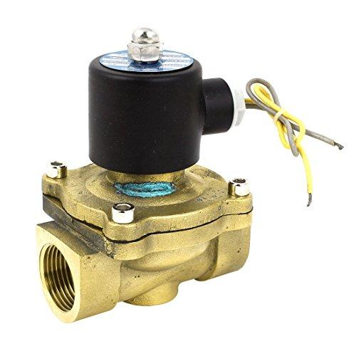 AC 110V 1BSP normal del hilo Cerrar Agua Gas aceite de la...