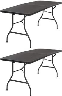 Cosco Folding Table (Black Set of 2)