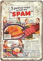 Hormel Spam the Meat of Many Uses ティンサイン ポスター ン サイン プレート ブリキ看板 ホーム バーために