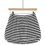 Sonnena Parte Superior Falsa Ajustable Extensores de Camisa Mini Falda Capas para Mujer y Hombre Media Extendida Color Sólido,Rayas,Colorblock