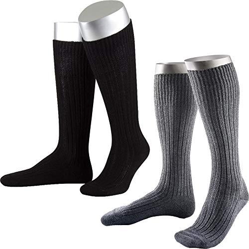 ORIGINAL BUNDESWEHR SOCKE/STRUMPF PLÜSCHSOHLE BW WINTER SOCKEN STRÜMPFE MERINO, Größe:42/43, Modell-Typ:Strumpf (lang), Farbe:Schwarz