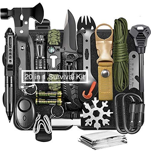 Survival Gear and Equipment 20 i...