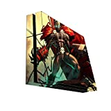 Comic Book Hero Vinyl Decal Sticker Skin by Compass Litho for Playstation 4 PS4 Console