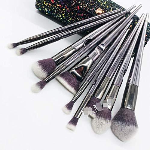 Make-up-Pinsel Contour-Pinsel 10 Lidschatten-Rouge-Make-up-Pinsel-Nut-Make-up-Beauty-Makeup-Tools