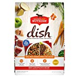 Rachael Ray Nutrish Dish Premium Natural Dry Dog Food, Beef & Brown Rice Recipe with Veggies, Fruit & Chicken, 11.5 Pounds (18146700)