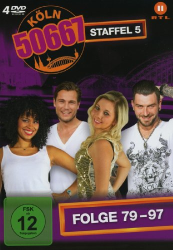 Köln 50667, Vol. 5: Folge 79-97 (4 DVDs)