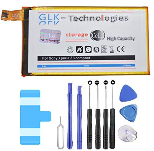 GLK-Technologies® Mega - Batería para Sony Xperia Z3 Compact (2700 mAh)