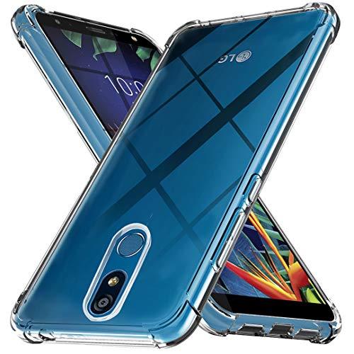 Ferilinso Funda para LG K40, Ultra [Slim Thin] Resistente a los arañazos TPU Caucho Piel Suave Silicona Funda Protectora para LG K40 (Transparente)