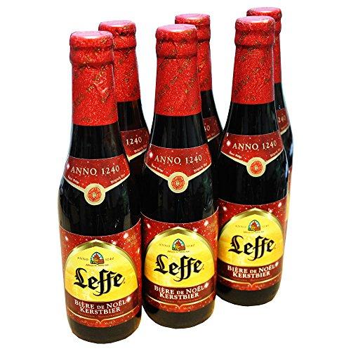 Original belgisches Bier Leffe Biere de Noel, Kerstbier 6x330ml 6,6%Vol - Weihnachtsbier