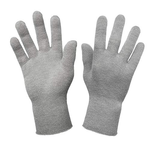 Deluxe-Handschuhe für Raynaud-Syndrom, 12 % Silber Gr. S-M, grau