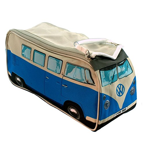 Volkswagen T1 bus toilettas in blauw - VW Bullie toilettas VW bus wastas Bulli