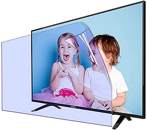 Protector De Pantalla De TV LCD Anti Deslizamiento Anti Deslizamiento De 50-75 Pulgadas, Filtro De Luz Azul, Filtro De Protección UV Y Radiación, Protege Los Ojos,75' 1645 * 930