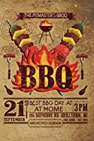 "BBQ recipes: bbq recipes journal 6x9"" 141 pages 70 sheets for your recipes Pitmaster's Log Book"