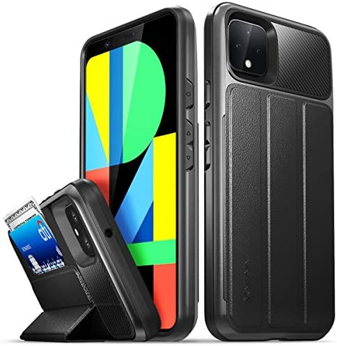 Vena Pixel 4 XL Wallet Case vCommute Military Grade Drop Protection Flip Leather Cover Card product image