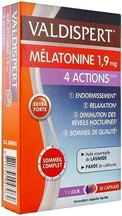 Valdispert Melatonina 4 Actions 1,9 mg 30 Cápsulas