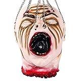 LoveStory Halloween Decorazioni Testa Mozzata Appesa Puntelli di Halloween Testa di Zombie Sanguinosa Crudele (C)