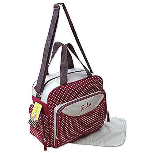 GMMH 3-piezas Bolso Para Pañales Cuidado Bebé Color A Elegir bordo 2140