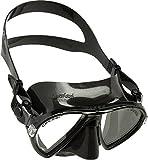 Cressi Gafas de Snorkeling, Unisex, Negro