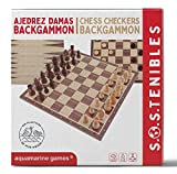 Ajedrez Damas Backgammon FSC100% NC-COC-059290